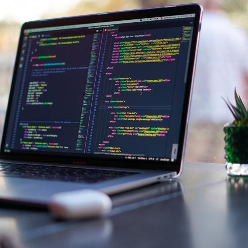 Image contenant du code HTML